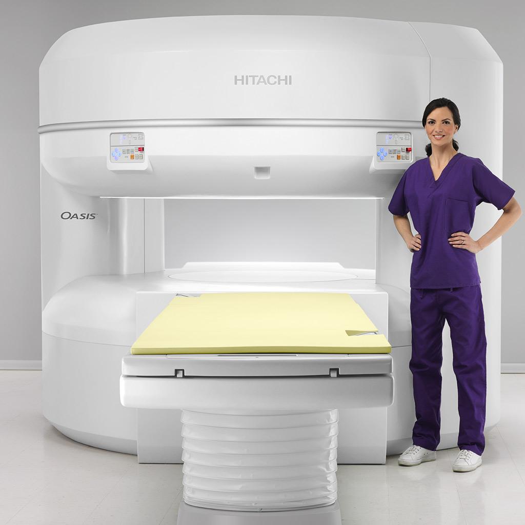 hitachi oasis Open MRT Conradia radiologie münchen
